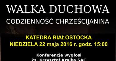 Konferencja – Walka Duchowa