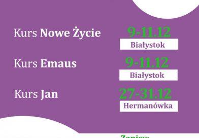 Kursy BSNE w grudniu